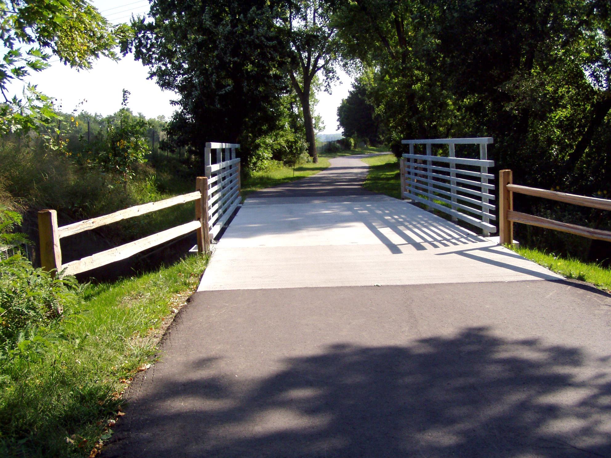 Spencer Park Bike Trails - Bridge