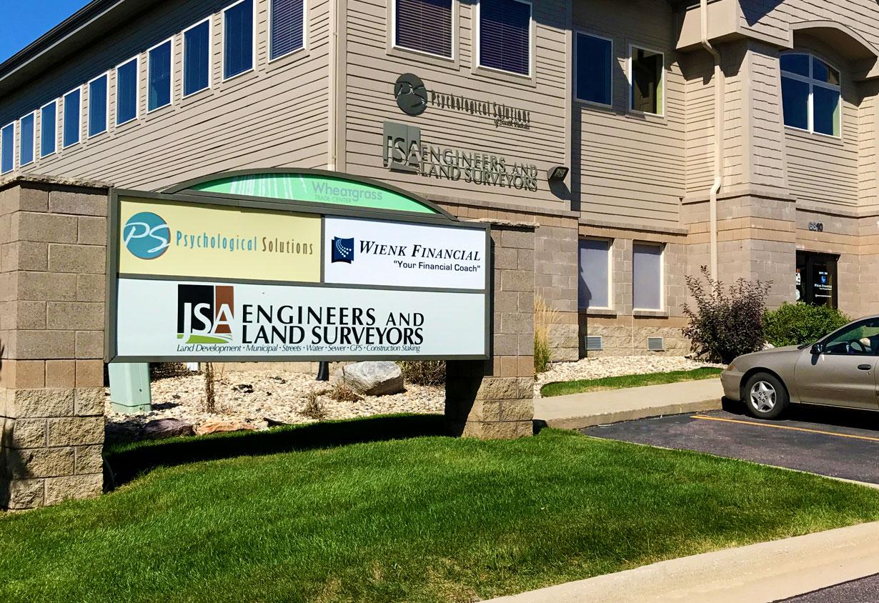 JSA Engineers and Land Surveyors office